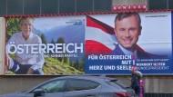 Kopf-an-Kopf-Rennen in Österreich