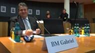 Abgas-Untersuchungsausschuss lädt Gabriel vor