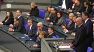 Bundestag gedenkt der Opfer des Anschlags vom Breitscheidplatz