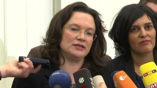 Nahles will Reformkonzept für Agenda 2010 in Kürze vorstellen