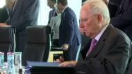 """Schäuble will die """"schwarze Null"""" bis 2021 festzurren"""