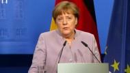 Merkel weist Nazi-Vergleiche aus der Türkei deutlich zurück