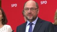 Rot-Rot-Grün bleibt für Schulz ein Thema