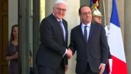Steinmeier fordert neues Kapitel für Europa