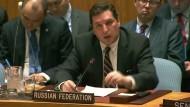 Russland verhindert UN-Resolution zu syrischem Gasangriff