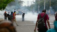 Bei den Protesten gegen das Regime in Caracas kamen bislang mindestens 37 Menschen ums Leben.