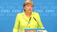 Merkel glaubt an Macrons Strahlkraft für Europa