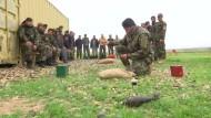 Bundeswehr bildet Kampfmittelräumer aus