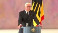 """Steinmeier: """"Sein Werk wird Bestand haben"""""""