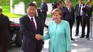 Merkel und Xi für engere Zusammenarbeit