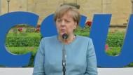 """Merkel: Ausbau der """"inneren Sicherheit"""" wichtiges Thema"""