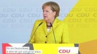 Merkel beschwört europäische Errungenschaften