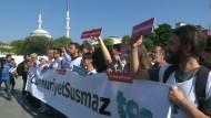 Türkische Journalisten vor Gericht