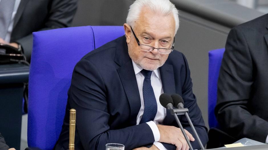 Wolfgang Kubicki (FDP), Bundestagsvizepräsident, am 7. November 2019 bei einer Sitzung des Deutschen Bundestages.