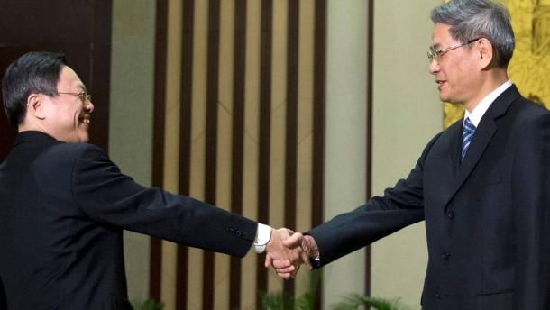 Ein historischer Handschlag