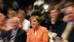 CDU in Siegerlaune: Schröder auf Abschiedstour