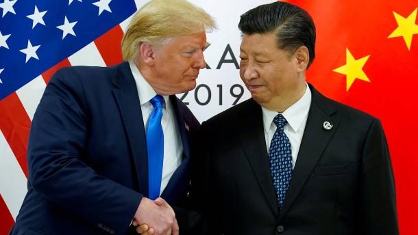 Trump beschuldigt China, seine Wiederwahl zu untergraben