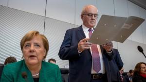 Lame duck Merkel