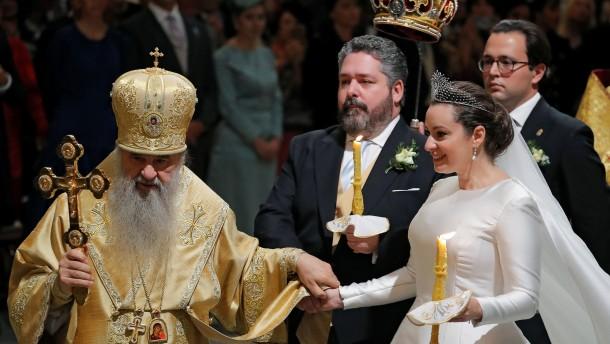 Die Romanows halten Hochzeit