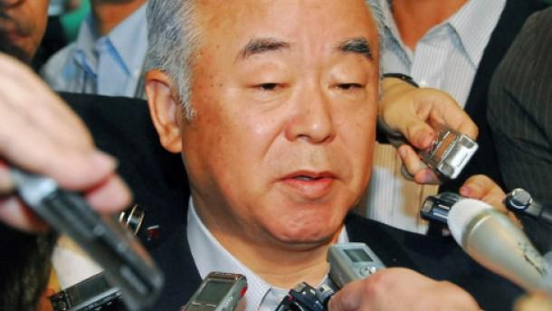 Verteidigungsminister Kyuma tritt zurück