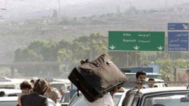 Israel bombardiert weitere Ziele im Libanon