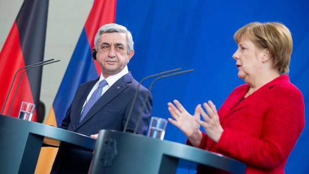Merkel unterstützt Armenien-Resolution