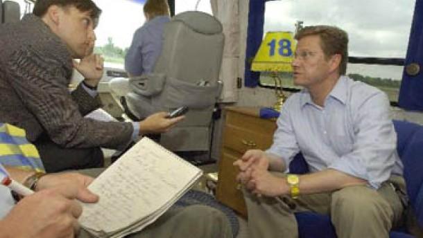 Westerwelle: Stoiber bekommt keine Koalitionsaussage