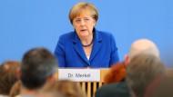 Merkel bekräftigt: Wir schaffen das