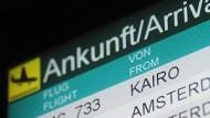 Egypt-Air Flug MS 733 bringt Urlauber zurück nach Deutschland