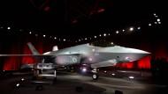 Er bleibt, wo er ist: Die erste türkische F-35 bei der Übergabe am Standort von Lockheed Martin in Fort Worth, Texas am 21. Juni