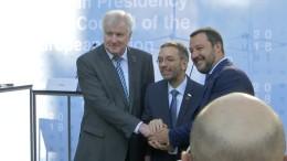 EU-Innenminister wollen Außengrenzschutz vorantreiben