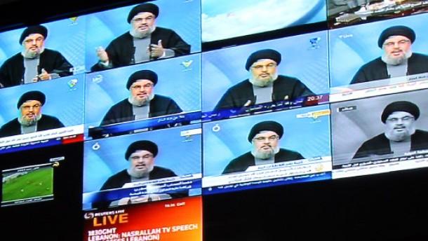Nasrallah droht mit tunesischen Verhältnissen