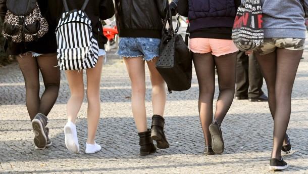 aktuell gesellschaft menschen nach hotpants verbot horb passierte