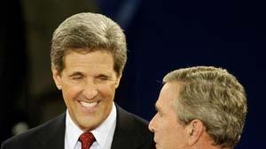 Bush und Kerry verschärfen den Ton