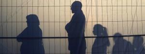 Der Wähler, das unbekannte Wesen: Wachpersonal und Gäste warten in Berlin auf die Ankunft von SPD-Kanzlerkandidat Martin Schulz.