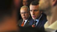 Emmanuel Macron gilt derzeit als Favorit für die Präsidentenwahl.