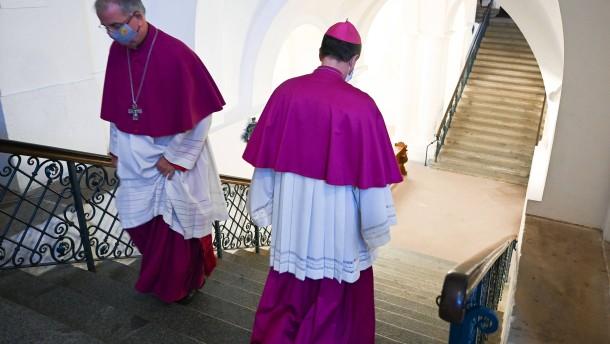 Bischöfe im Rückstand