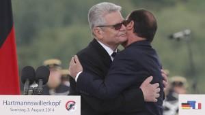 Arm in Arm für ein geeintes Europa