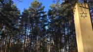 Die Gedenkstätte Rumbula, südöstlich von Riga. Hier wurden rund 25.000 Menschen ermordet - darunter Eltern und Schwester von Margers Vestermanis
