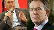 """Chirac über Blair: """"Es gibt keinen ehrlichen Makler"""""""