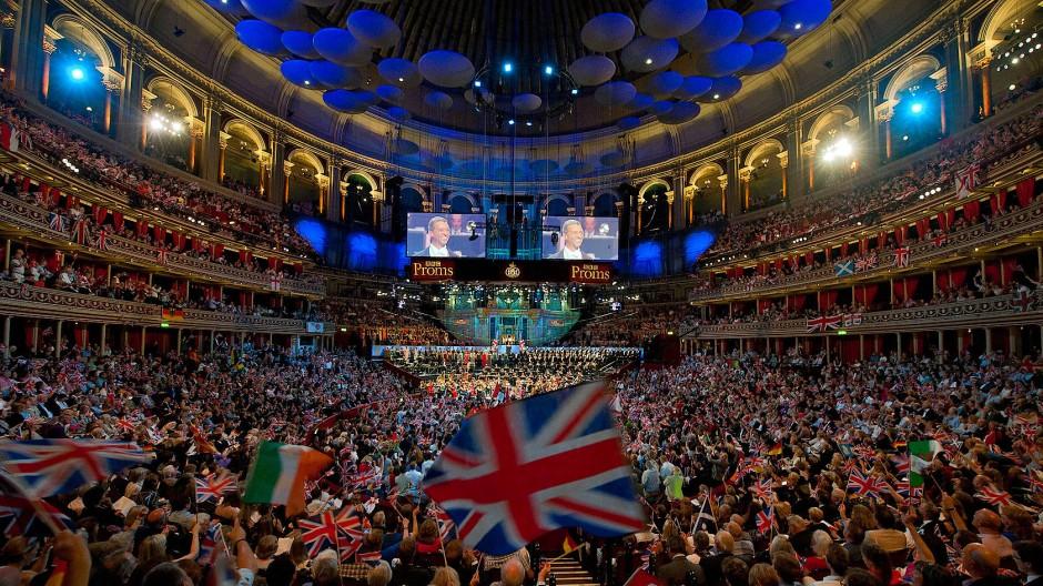 Rule Britannia? Last Night of the Proms im September 2014.