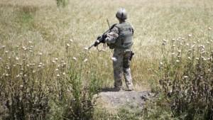 Bundeswehr unter Mörserfeuer