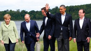 G 8 will Übergangsregierung für Syrien