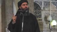 Abu Bakr al Bagdadi (Archivbild)