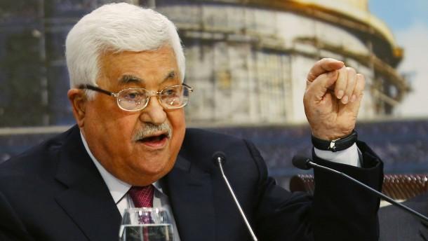 Abbas gibt Juden Schuld am Holocaust