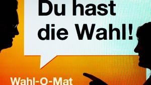 Bundeszentrale will Verbot des Wahl-O-Maten anfechten