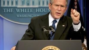 Bush: Nichts hat sich geändert