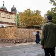 Ein Jahr danach: In Halle wurde Anfang Oktober des rechtsextremistischen Anschlags gedacht.