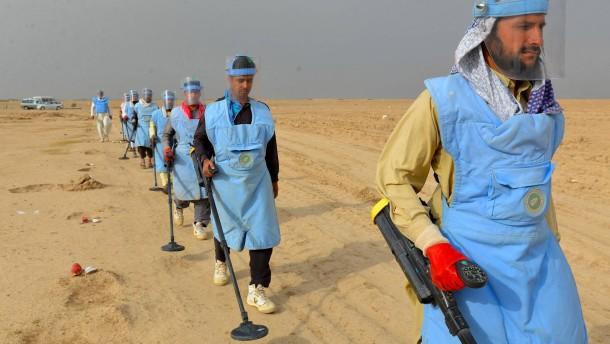 Warum Trump Obamas Landminen-Verbot aufhebt