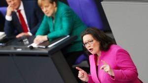 SPD unterstützt Merkel mit eigenem Asylplan